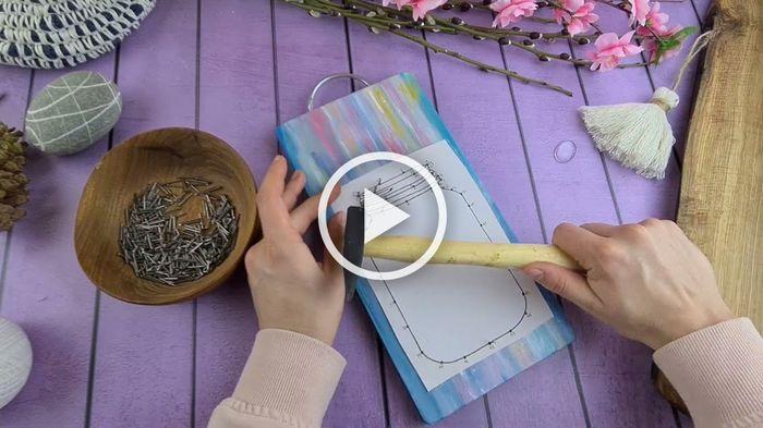 Стринг - арт видео мастер класс
