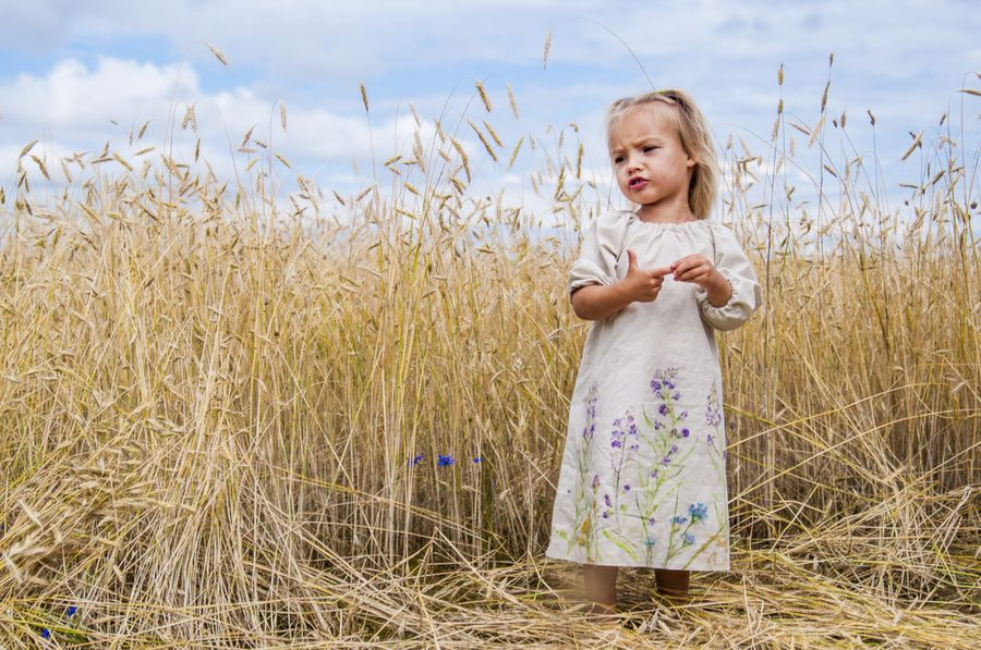 Как сшить простое льняное платье на лето