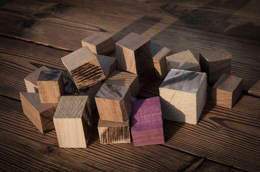 По-моему это лучшее применение обрезков от дерева! Японская игра туми-иши своими руками
