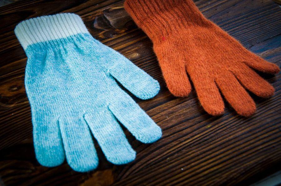 Если пара от перчатки потерялась - не спешите выкидывать ту, что осталась (шьем мишку)