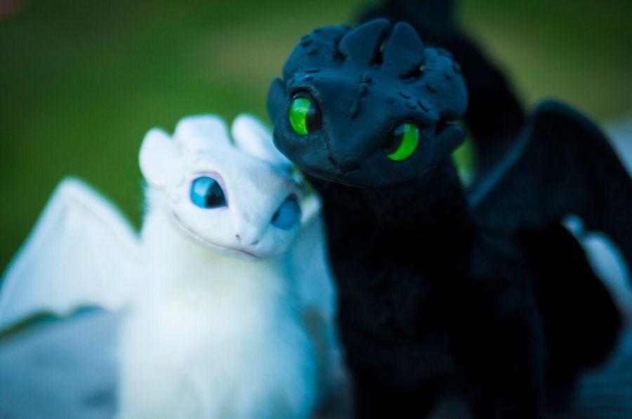 Там, где рождаются драконы. Как сделать почти живую игрушку из мультфильма
