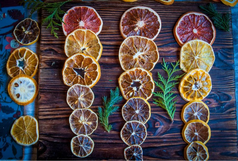 Необычное украшение из обычной еды: делаем стеклянные фрукты