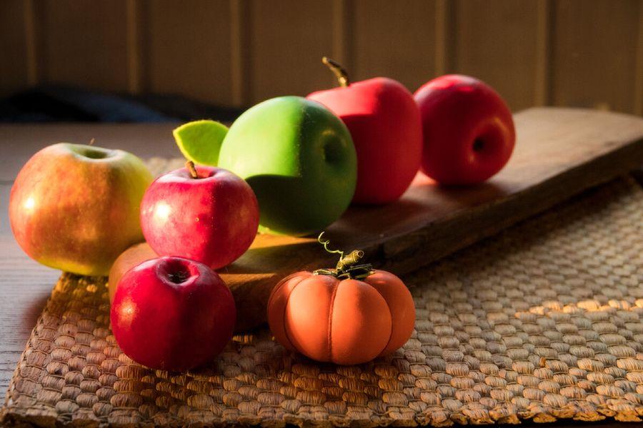 Осенний сад из воздушных шариков