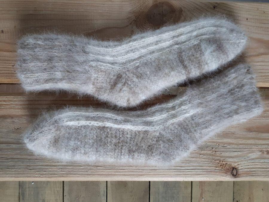 Как связать носки на 2х спицах, у которых легко меняется подошва