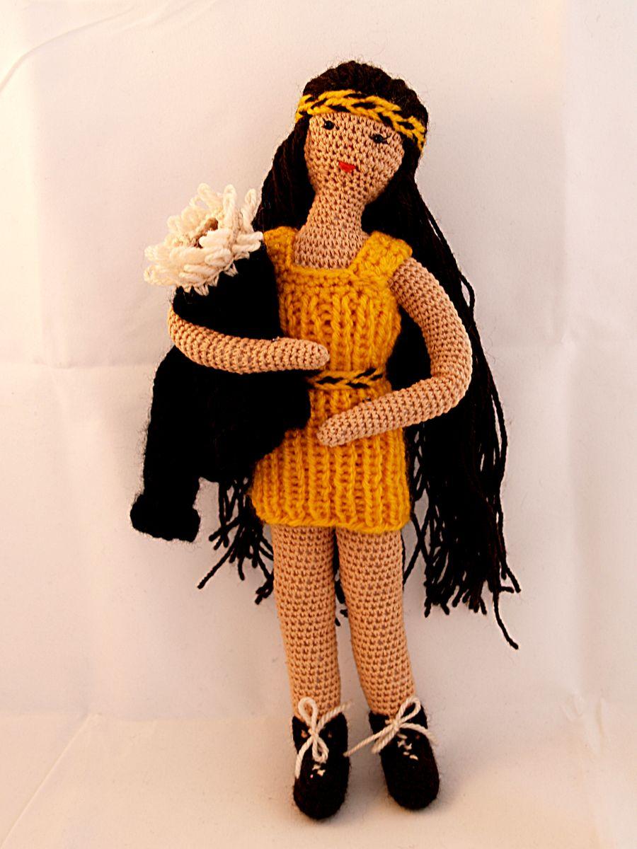 Кукла в одежде.