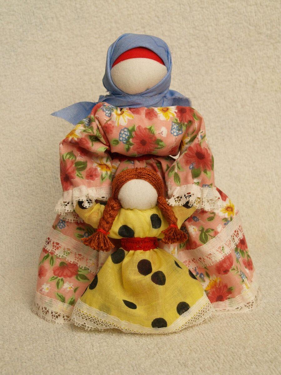 Интересная народная кукла-Ведучка