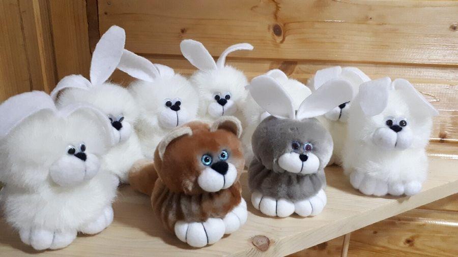 Меховые игрушки из кружков всего за 30 минут
