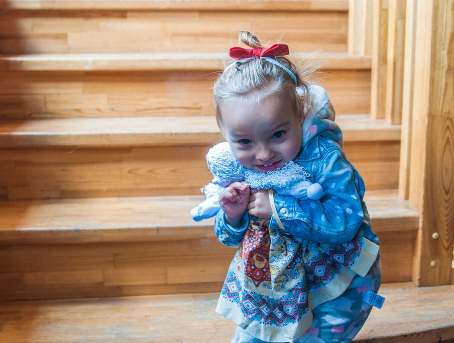 Мягкая текстильная кукла. Мастер-класс с фото