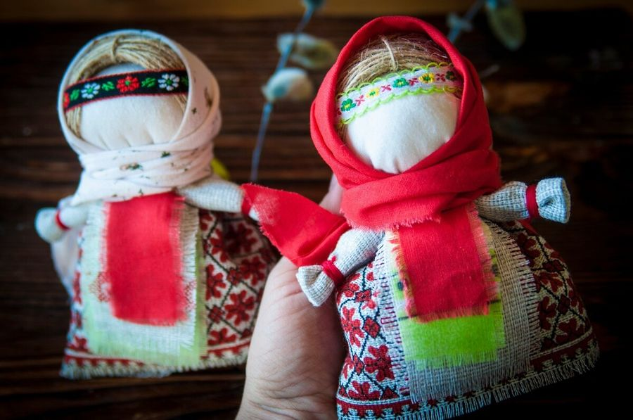 Кукла-скрутка