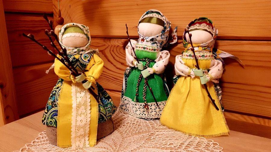Делаем куклу Вербницу